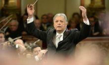 Dirigent Zubin Mehta beim Neujahrskonzert der Wiener Philharmonie 2015