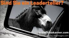 Sind Sie ein Leaderteller? Vielleicht erkennen Sie die Geschichte Ihres Lebens, wenn Sie in den Rückspiegel schauen...