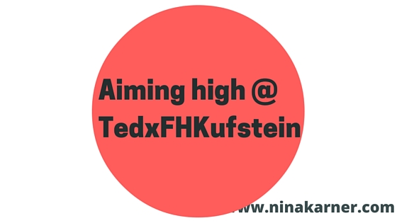 Aiming high: Tedx